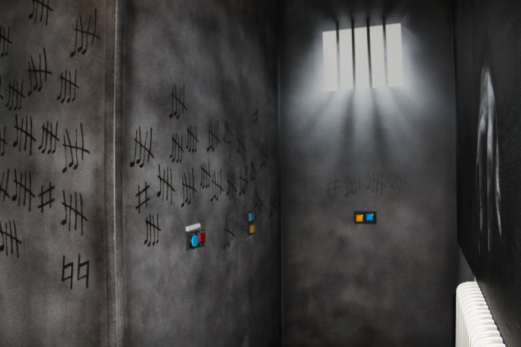 Cel Prison Island Middelburg